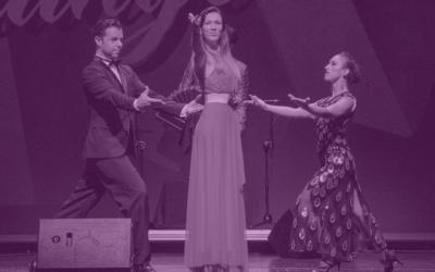 La Porteña en concierto en la Noche de Tango en el Festival Noches Mágicas, el próximo 24 de julio